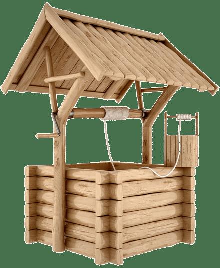 Процесс очищения колодца в Подольском районе