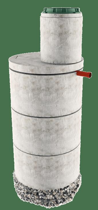 Септик из бетонных колец в Подольском районе